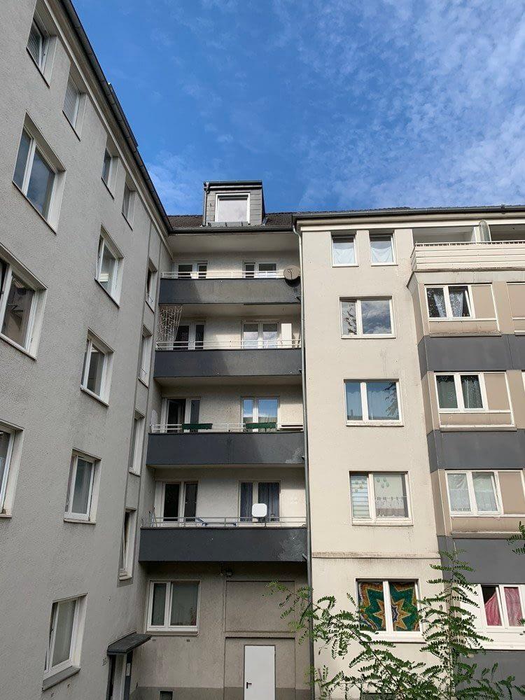 renovierte 2 Zimmer Wohnung verkehrsgünstig in Holsterhausen