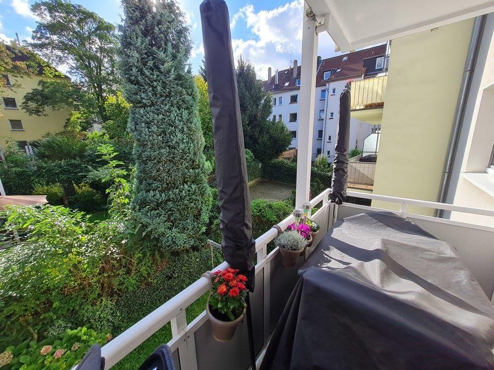 vermietete & gepflegte 3 Zimmer Wohnung mit Balkon in Essen Holsterhausen